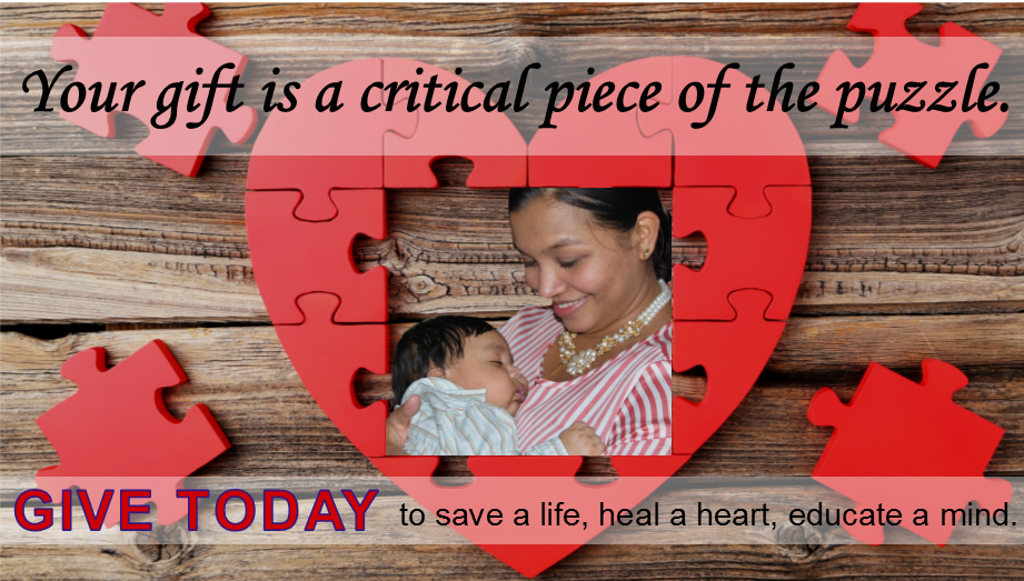 Your gift is a critical piece of the puzzle