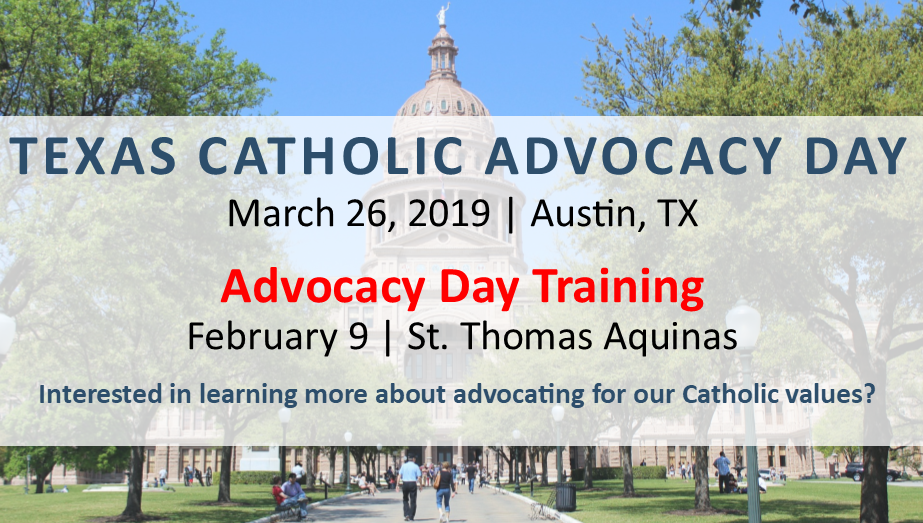 Catholic Advocacy Day Training