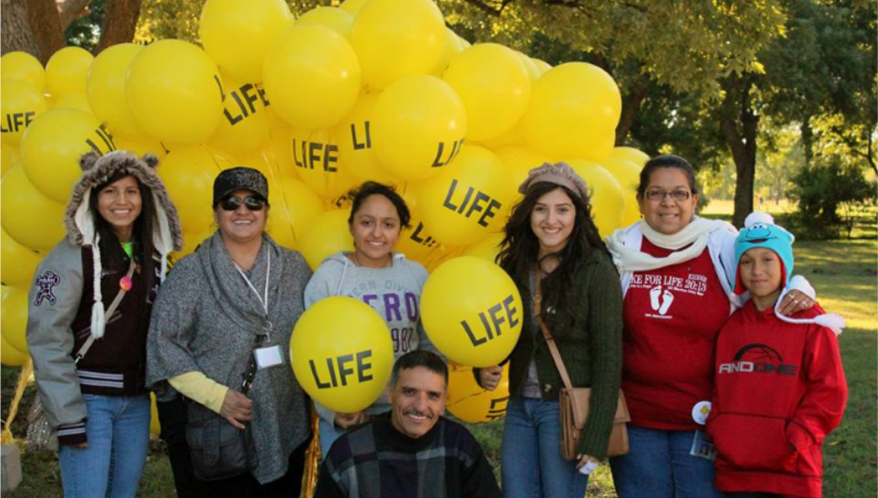 40 Days for Life - Dallas 2013 Youth Day
