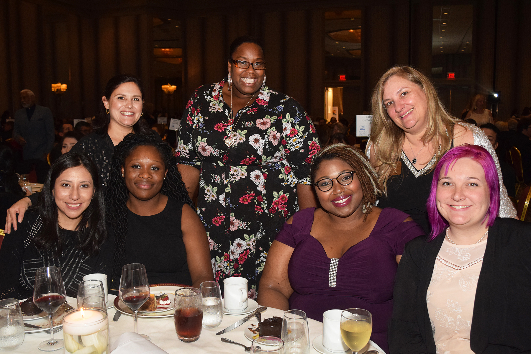 CPLC GEMS Moms enjoy dinner