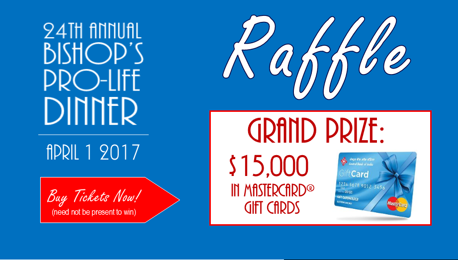 Chance to Win $15,000 MasterCard gift cards!