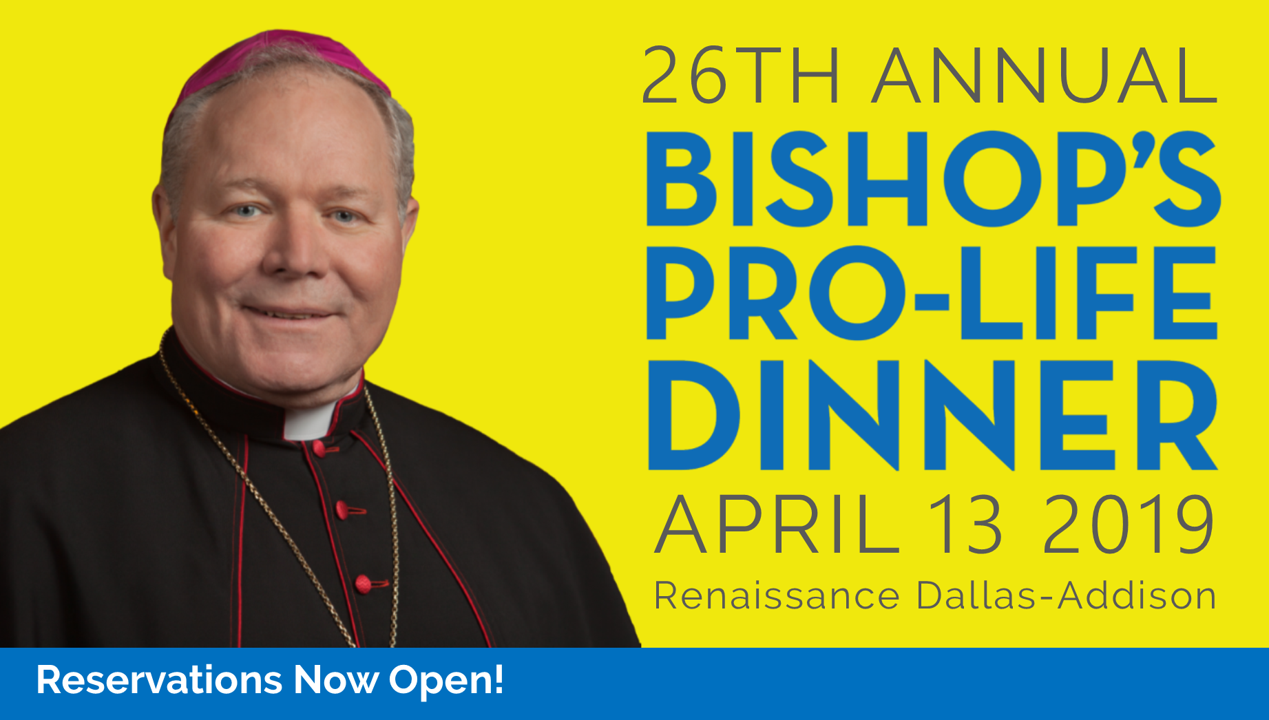 26th Annual Bishop's Pro-Life Dinner