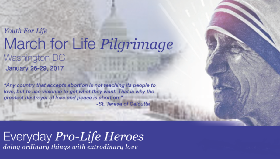 YFL Pilgrimage to DC March for Life