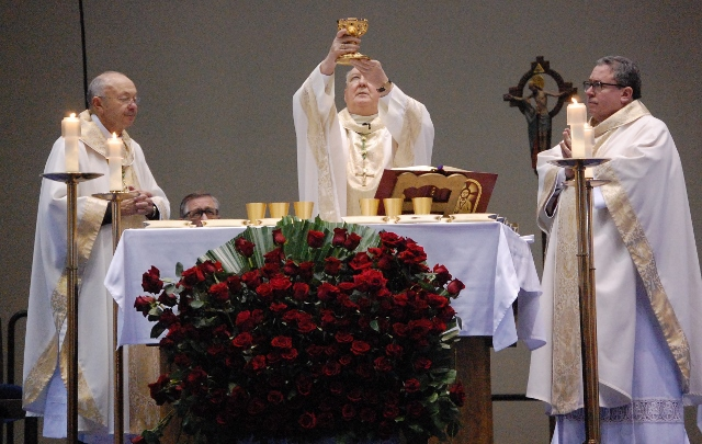 2015 Roe Memorial Mass concelebrated by Bishops Farrell, Olson, and Deshotel