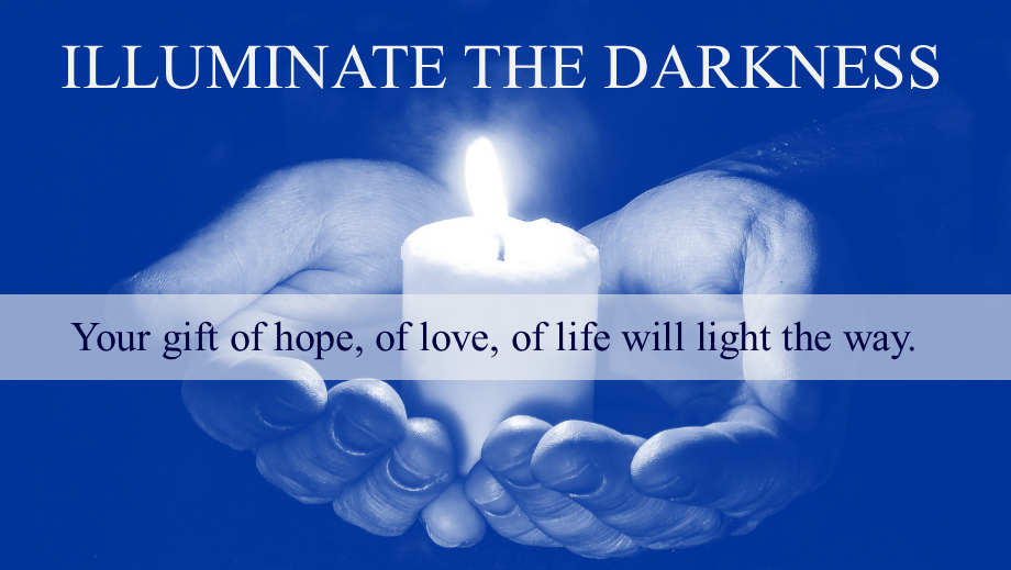 Give the gift of hope, of love, of life