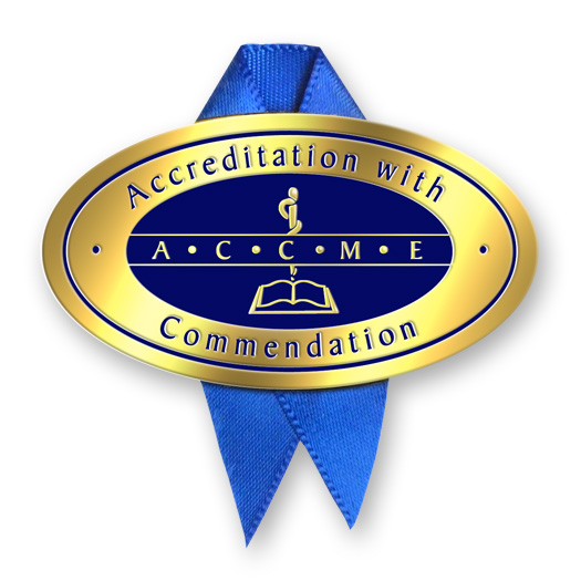 Accreditation with Commendation