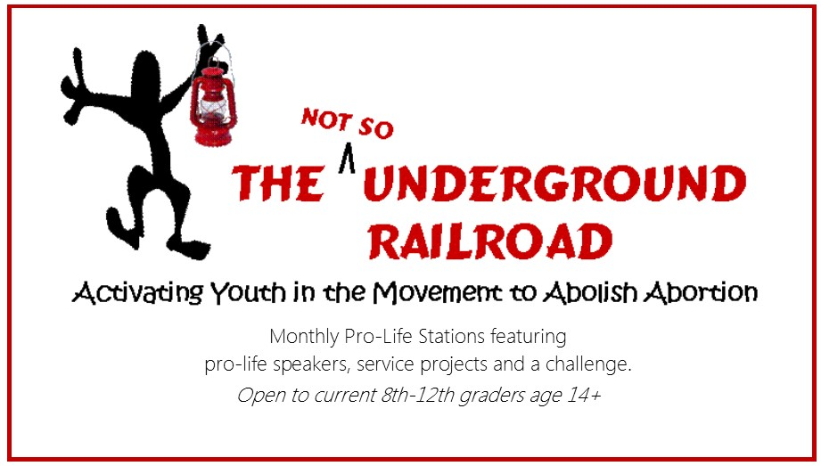 Not So Underground Railroad Youth Event