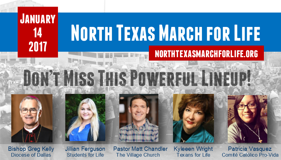 North Texas March for Life Rally Ad