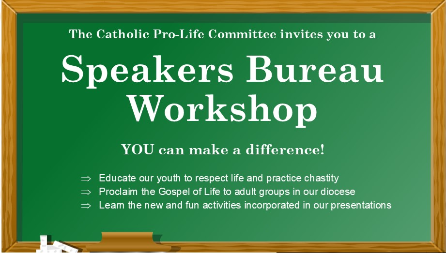 Speakers Bureau Workshop