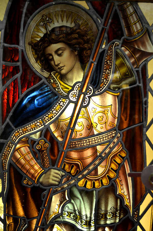 St. Michael defend us in battle