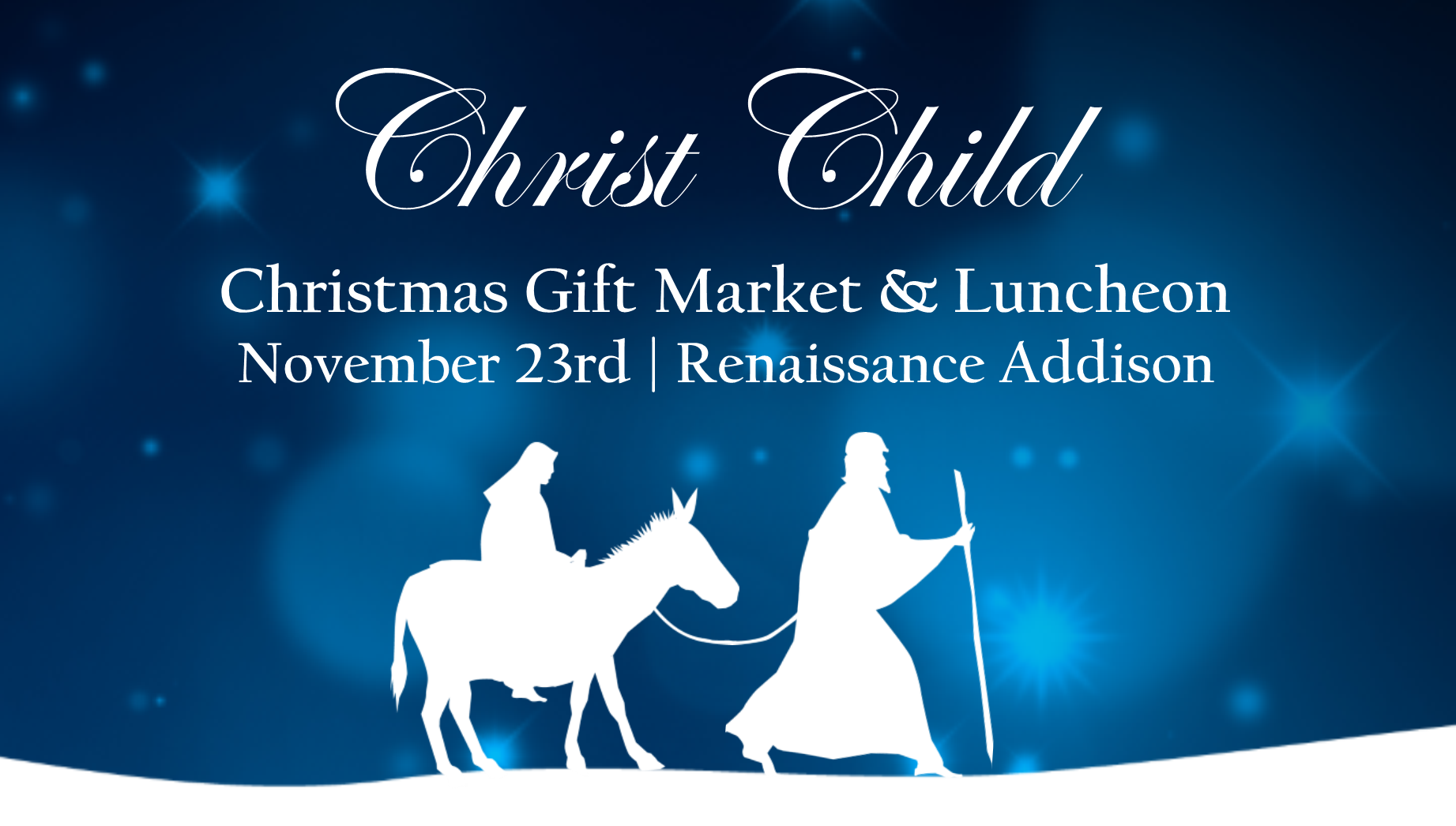 Christ Child Christmas Market and Luncheon