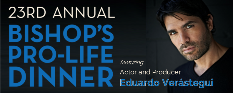 23rd Annual Bishop's Dinner featuring Eduardo Verastegui